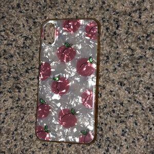 Peach case 🍑 iPhone X